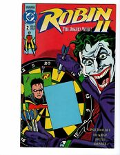 Robin 2 The Joker's Wild (1991) #2C RARE PRODUCTION ERROR ISSUE! HIGH GRADE! DC