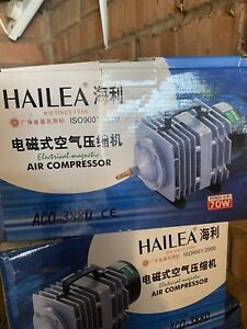 8 Outlet Fish Tank / Pond Air Compressor Fish Room Large 70w