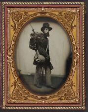 American Civil War Private Albert Davis 6th New Hampshire 1861 6x5 Reprint Photo