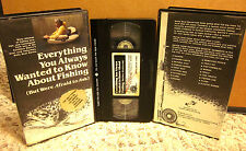 EVERYTHING YOU WANTED TO KNOW ABOUT FISHING Belly Boat Bernie catfish rigs VHS