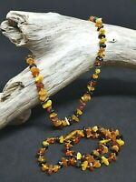 Natural Baltic Amber Multicolor Necklace Baby No Enhancement