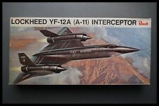 Revell Lockheed YF-12A (A-11) interceptor 1:72 Modelo Kit Vintage 1968