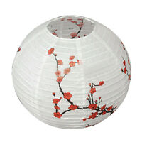 14'' Lamp Shade Paper Lantern Oriental Style Light Decoration S4K1 V8A8
