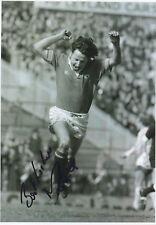 MICKEY THOMAS - Signed 12x8 Photograph - FOOTBALL - MAN UTD