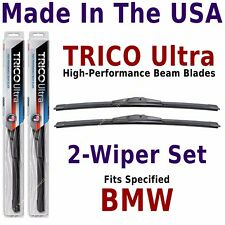 Buy American: TRICO Ultra 2-Wiper Blade Set fits listed BMW: 13-15-15