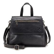 Patricia Nash Molina Convertible Leather Satchel/Backpack Black $200 Retail New
