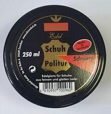 Tecur Edel Schuhpolitur Schuhcreme schwarz 250 ml