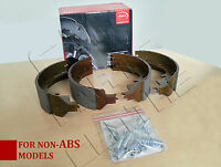 FOR LDV CONVOY 2.5D 3.1 3.5 TON TWIN WHEEL REAR BRAKE SHOES & FITTING KIT -ABS