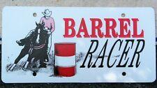 New Barrel Racing Horse License Plate 4 Truck/Trailer~Equestrian, Riding, Sport