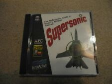 SUPERSONIC a guide to modern Military Aircraft (1993 PC CD-ROM) Mac/Windows