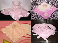 Soft Touch Baby Blankie Comforter Snuggle Soother Soft Toys
