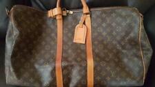 Vintage LOUIS VUITTON Monogram Keepall Bandouliere 55 Boston Bag
