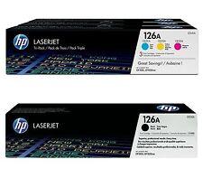 HP Original 126A Toner 4er Set / für Color LaserJet Pro CP1025 , Pro 100 Serie