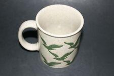 Green Flying Seagulls Fine Stoneware Mug Made in Japan