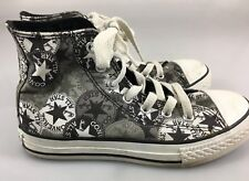 Converse All Star Chuck Taylor Youth 2 US Gray Hi-Top Canvas Sneakers Gym Shoes