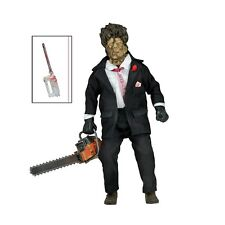 Texas Chainsaw Massacre 2 Retro Action Figure 30th Anniversary Leatherface - New