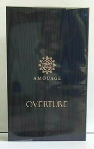 Amouage OVERTURE for men 100 ML, 3.4 fl.oz EDP, Made in Oman.