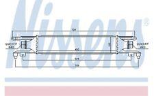 NISSENS Radiador de aire admisión PEUGEOT 307 CITROEN C4 96720