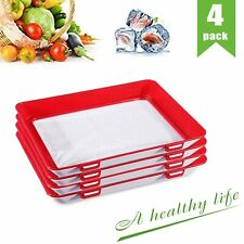 New listing Food Plastic Preservation Tray, Healthy Creative Kitchen Tools, 2019 New Seal M1