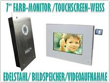 7 Zoll LCD Monitor Türsprechanlage Gegensprechanlage Video Bildspeicher