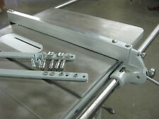 UNISAW JUNIOR - NOW YOU CAN USE A FULL SIZE UNISAW FENCE AND RAILS ON THE JR.