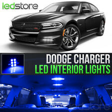 2015-2018 Dodge Charger Blue Interior LED Lights Kit Package