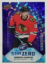 2019-20 Upper Deck Ice 576/999 Dominik Kubalik Sub Zero Card