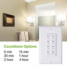 Century Timer Century Countdown Digital In-wall Timer 5-15-30-60mins, 2-4 hours