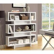 Bibliothèques blancs modernes pour la maison