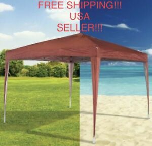 Pop up Instant Canopy Tent Portable Beach Garden Sports Shade NEW 10 X 11 X 6.5
