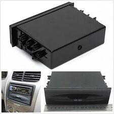 Black Car Large Space Single Din CD Radio Stereo Installation Pocket Storage Kit