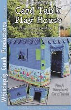 What's Bugging You Card Table Playhouse, Whistlepig Creek Productions,DIY Sewing