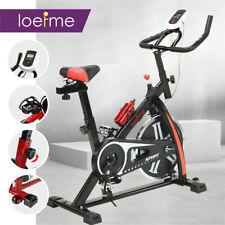 LOEFME Exercise Bike Home Gym Bicycle Cycling Cardio Fitness Training Indoor UK
