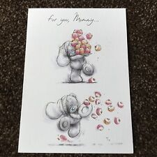 """"""" Mummy"""" Softly Drawn Mother's Day Me To You Tatty Teddy card new from 99p"""