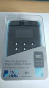 Paypal Contactless Chip & Pin Card Reader Contactless Enabled - Black