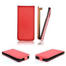 TREND Slim Flip-Style Tasche f Samsung Galaxy S Duos S7562 Etui Case ROT