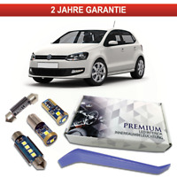 VW Polo 6R Premium LED Innenraumbeleuchtung 8 SMD Komplett Set weiß Canbus