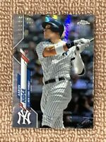 AARON JUDGE 2020 TOPPS CHROME PRISM REFRACTOR -  (NEW YORK YANKEES)  NO.50