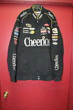 New Austin Dillon NASCAR #3 Cheerios black cotton jacket men's L