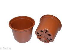 100x Pflanztöpfe 9cm Blumentöpfe Töpfe Anzuchttöpfe Grow Anzucht Container PP