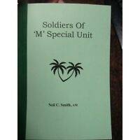 Australian Soldiers of M Special Forces Unit WW2 Nominal Roll Coastwatchers book