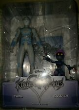 Disney Kingdom Hearts Tron And Soldier Action Figures Game Stop Exclusive NEW