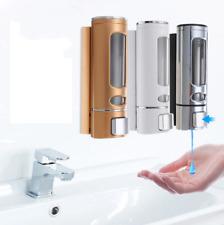 Liquid Soap Shampoo Dispenser Wall Mount Kitchen Bathroom 400ml