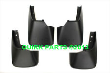 2013-2014 GMC Acadia Front/Rear Splash Guard Set OEM NEW 22935679 & 23104176