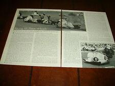 1962 MOTORCYCLE SIDECAR RACING   ***ORIGINAL ARTICLE***