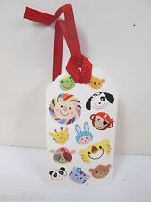CUTE LITTLE ANIMAL FRIENDS GIFT TAGS / BOOKMARKS WITH RIBBON TRIM DEAL/6