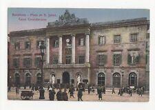 Spain Barcelona, Plaza de S. Jaime, Casa Consistoriales Postcard, A596