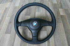 BMW OEM Sport steering wheel E31 E34 E36 New Leather & M style stiches