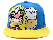 New Nintendo WARIO Super Mario Era Snapback Hat Adjustable Mens Baseball Cap