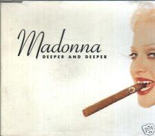 MADONNA DEEPER AND DEEPER MAXI CDS 6 TRACKS